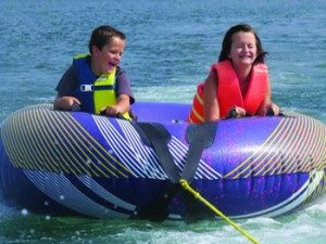 Tubing On Table Rock Lake